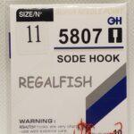 Carlige Regal Fish Sode Hook Nr 11 10Buc