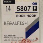 Carlige Regal Fish Sode Hook Nr 14 10Buc