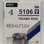 Carlige Regal Fish Iseama Ring Nr 4 10Buc