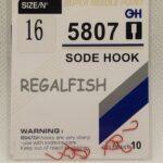 Carlige Regal Fish Sode Hook Nr 16 10Buc