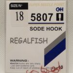 Carlige Regal Fish Sode Hook Nr 18 10Buc