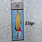Lingurita Oscilanta Auriu - 22G/6.5Cm