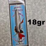 Lingurita Oscilanta Silver - 18G/6Cm