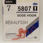 Carlige Regal Fish Sode Hook Nr 7 10Buc