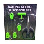 Kit Complet 3 Crosete+Burghiu+Foarfeca+Knot Puller 6 Piese/Blister Green