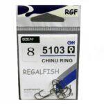 Carlige Regal Fish Chinu Ring Nr.8 10Buc