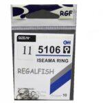 Carlige Regal Fish Iseama Ring Nr.11 10Buc