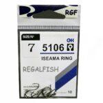 Carlige Regal Fish Iseama Ring Nr.6 10Buc
